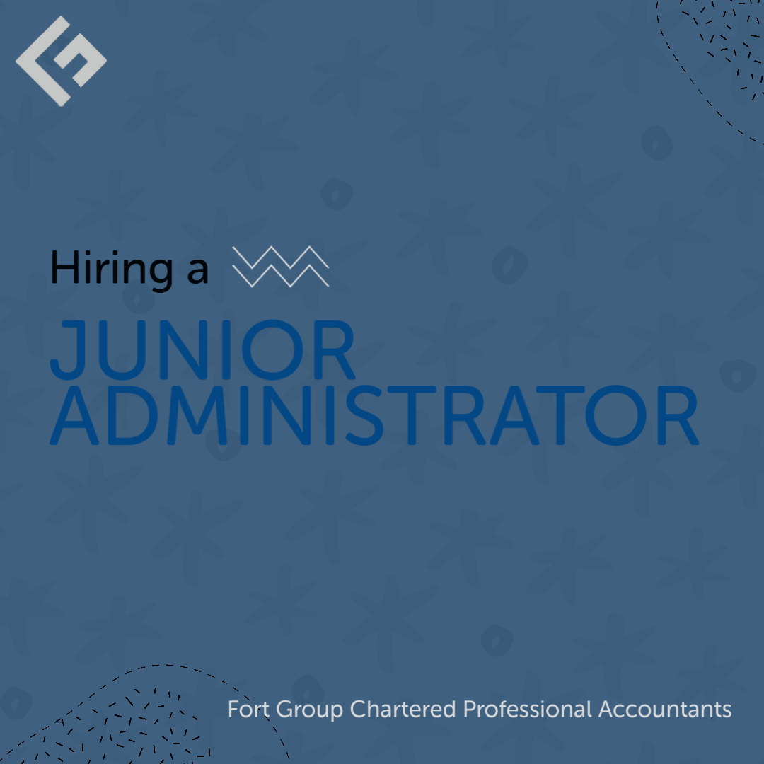 Hiring a Junior Admin